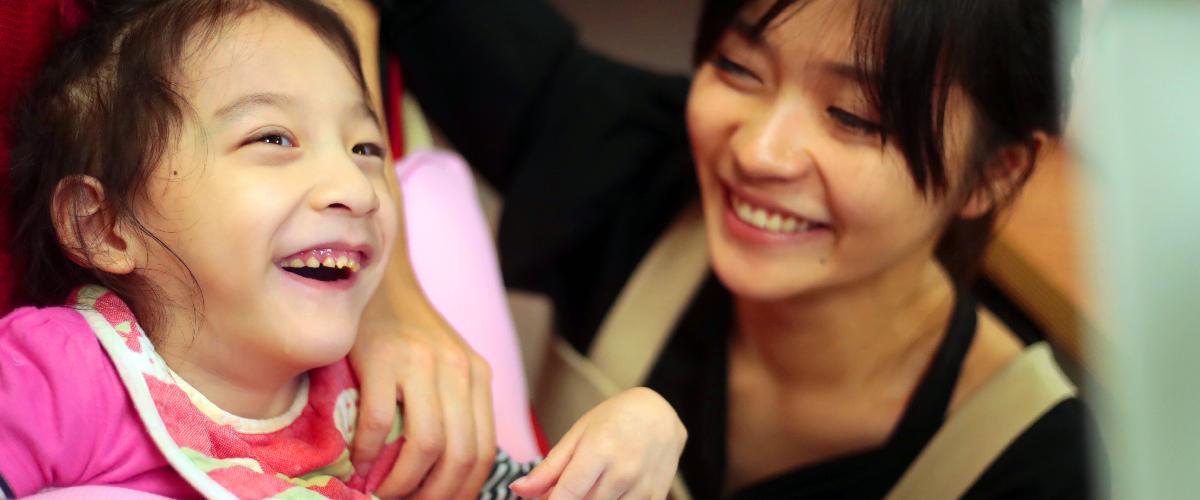 富邦文教基金會-重症孩童居家眼動課程